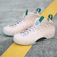 """[Free Shipping ]Nike Air Foamposite One """"Particle Beige"""" AA3963-200  Basketball Shoes"""