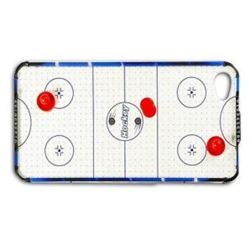 Cute Retro Air Hockey Table Rubber Phone Case iPhone 5c 5 5s 4 4s 6 Plus + iPod