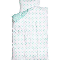 Twin Duvet Cover Set - from H&M