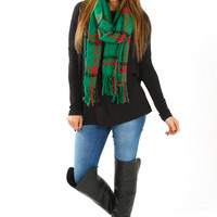 Fresh From The Western Seas Piko Top: Black