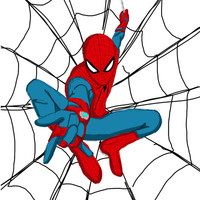 The Amazing Spiderman! Art Print by Steve Wade | Society6