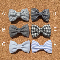 Set of two Bow ties boy toddler baby bow tie bow tie Seaside Sparrow bow tie bow tie for boy Easter Wedding boy tie bow tie for boy bow tie