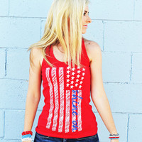 American Flag Racerback from The Shine Project