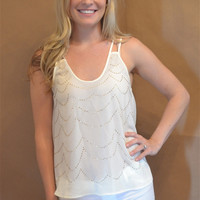 Miley Top (Ivory)
