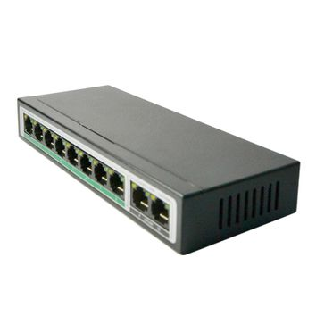 High Compatibility 10 Ports Monitor Ethernet Switch CF1010-E Desktop Network Switches Monitoring Splitter 3.2Gbps