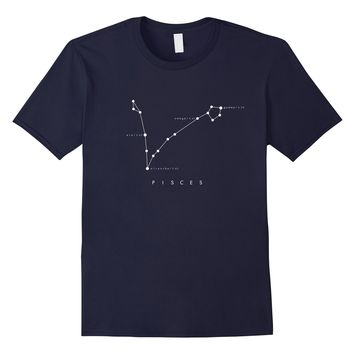 Pisces Constellation T-Shirt - Zodiac Star Astronomy