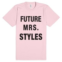 Future Mrs Styles-Unisex Light Pink T-Shirt
