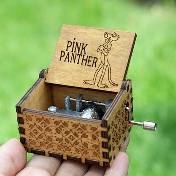 Star Wars Force Episode 1 2 3 4 5 2018 Hot  Pinks Panther Music Box Game Of Thrones  Sleep Lion Twinkle  Birthday Present AT_72_6