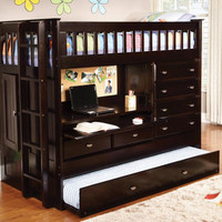 Huntington Twin All in One Loft Bed