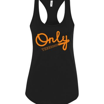 Official NCAA University of Tennessee Volunteers, Knoxville Vols UT UTK Women's Only Tennessee Racerback Tank