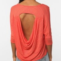 UrbanOutfitters.com > Sparkle & Fade Draped Back Sweater