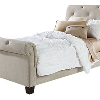 Lucy Oatmeal 3 Pc Twin Bed