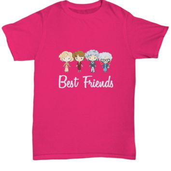 Best Friends Golden Girl Funny TV Show T-Shirt