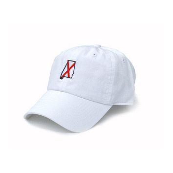 AL Tuscaloosa Traditional Hat in White by State Traditions
