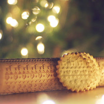 CHRISTMAS PATTERN *** knitted jumper *** Embossing rolling pin, laser engraved rolling pin with vintage knitted pattern