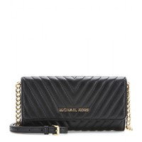 michael michael kors - susannah leather cross-body bag