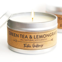 Green Tea & Lemongrass Candle