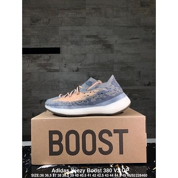 Adidas Yeezy Boost 380 V3 GPX Alien Fashion Men Retro Casual Sport Running Shoes Sneakers