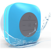 Bluetooth Shower Speaker SpeakStick Classic With Built-In Microphone. Blue