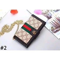 GUCCI 2019 new tide brand female leopard iPhoneXS mobile phone case cover #2