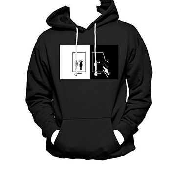 Harry Potter Ravenclaw MEN WOMEN UNISEX PULLOVER FUNNY GRAPHIC HOODIE - Black