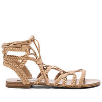 Swyvel Sandal in Natural Nubuck