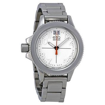 ESQ Movado Women's 07101404 esq Fusion Stainless Steel Interchangeable Strap Watch