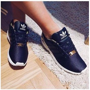 Adidas zx flux men and women fashion wild casual sports shoes F