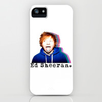 Ed Sheeran iPhone & iPod Case by Lyre Aloise