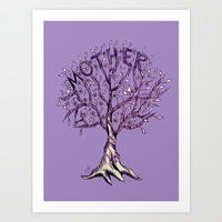 Mother Art Print by ES Creative Designs