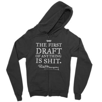 Hemingway First Drafts California Fleece Zip hoodie