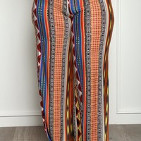 Golden Edge Plus Size Multi Print Pants Bottoms+ GS-LOVE