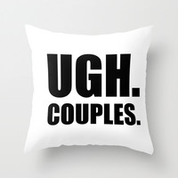 quote Throw Pillow by Trend