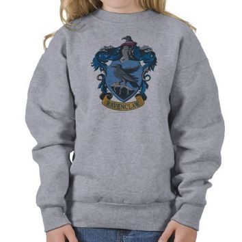 Ravenclaw Crest 2 Pullover Sweatshirts from Zazzle.com