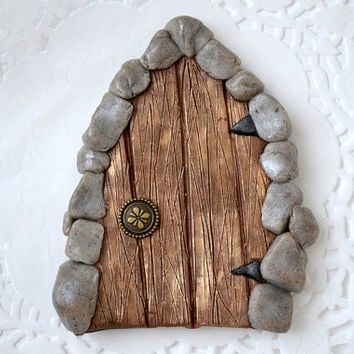 Fairy Garden Door - Fairy Door - Fairy Portal - Tooth Fairy Door - Fairy Garden - Fairy Garden Kit - Gnome Door - Hobbit Door - Garden Mini