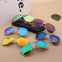 RayBan Tide brand driving driver personality color film polarized sunglasses