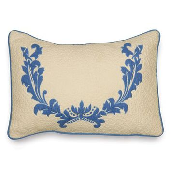 Amity Home Small Damask Bolster Pillow