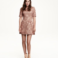 H&M Brocade Dress $69.99