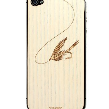 Fly Fishing IPhone Cover Ash