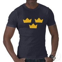 Swedish Hockey T-Shirt from Zazzle.com