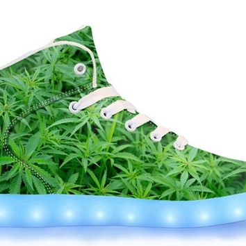 Homegrown - APP Controlled High Top LED Shoes