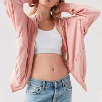 Silence + Noise Eve Dolman Bomber Jacket - Urban Outfitters