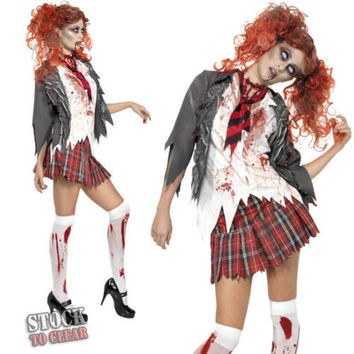 Halloween Zombie Cosplay Party Costume [8939301063]