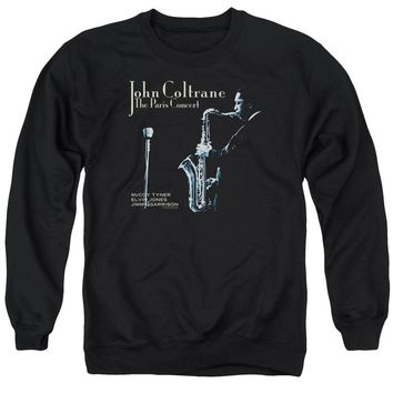 John Coltrane - Paris Coltrane Adult Crewneck Sweatshirt