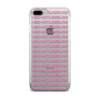 Clear Hotline Bling iPhone Case