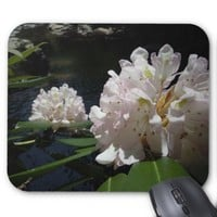 Mountain Laurel by a Creek Mouse Pad