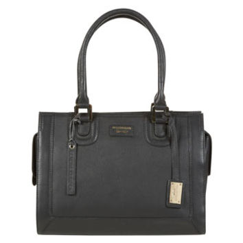 Paul Costelloe Black Leather Shoulder Bag