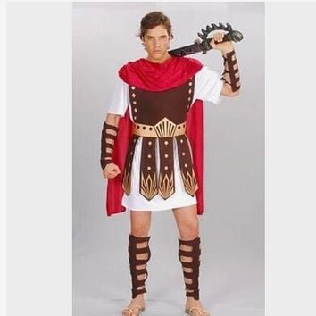 Guard Hercules Roman Gladiator Clothing Set Roman Warrior Costume Halloween Constumes Party Cosplay Men Events Props CO47160172