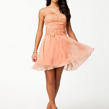 Lace Up Back Dress, NLY One