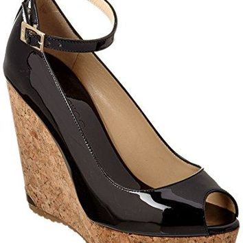 Jimmy Choo Pacific 120 Patent Wedge, 39.5